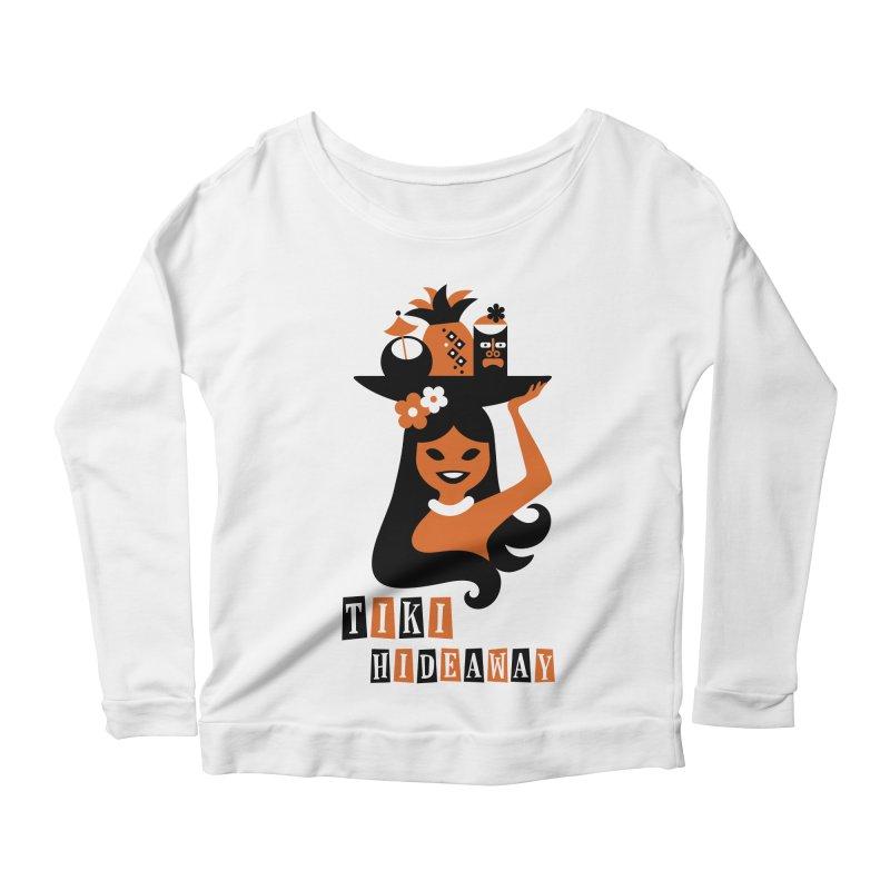 Tiki Hideaway Women's Scoop Neck Longsleeve T-Shirt by scottpartridge's Artist Shop