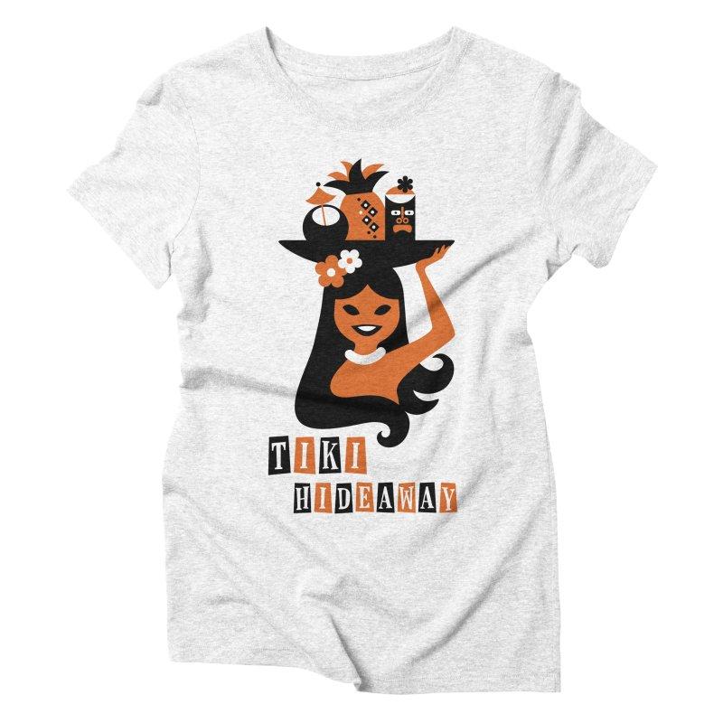 Tiki Hideaway Women's Triblend T-shirt by scottpartridge's Artist Shop