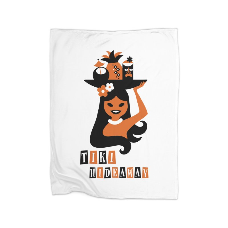 Tiki Hideaway Home Blanket by scottpartridge's Artist Shop