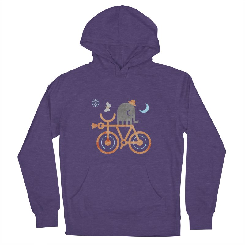 Elephant and Moth Women's Pullover Hoody by scottpartridge's Artist Shop