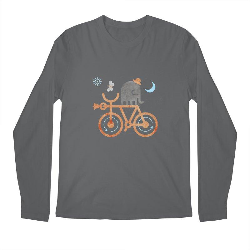 Elephant and Moth Men's Longsleeve T-Shirt by scottpartridge's Artist Shop