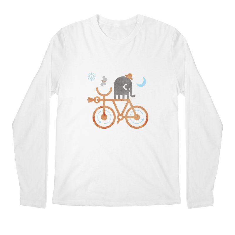 Elephant and Moth Men's Longsleeve T-Shirt by scottpartridge's Artist Shop