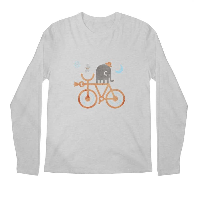 Elephant and Moth Men's Regular Longsleeve T-Shirt by scottpartridge's Artist Shop