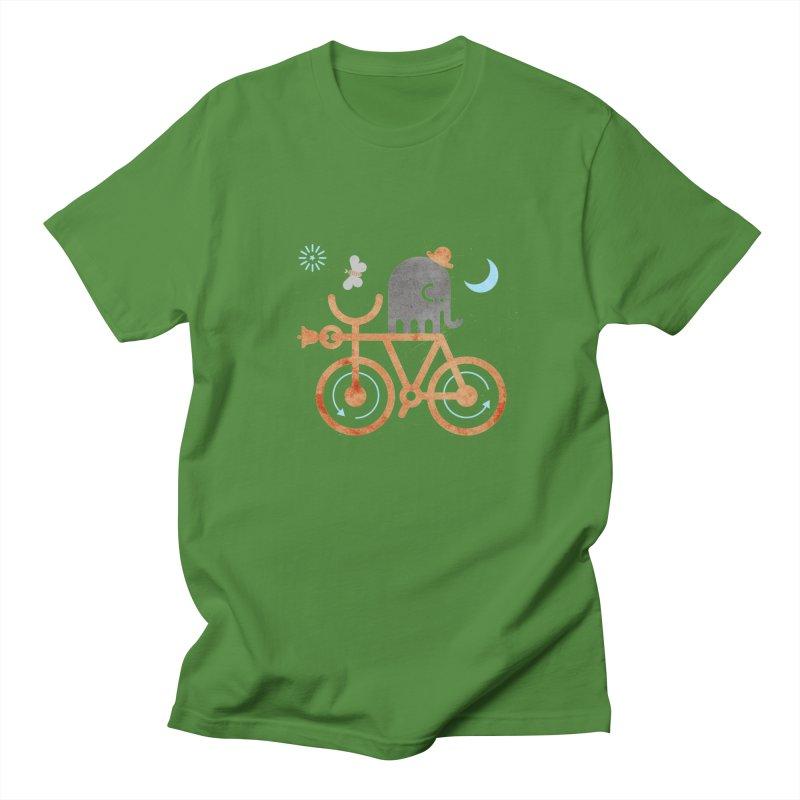 Elephant and Moth Men's Regular T-Shirt by scottpartridge's Artist Shop
