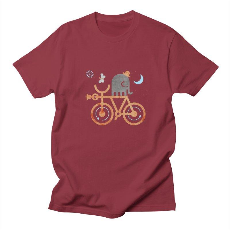 Elephant and Moth Men's T-shirt by scottpartridge's Artist Shop