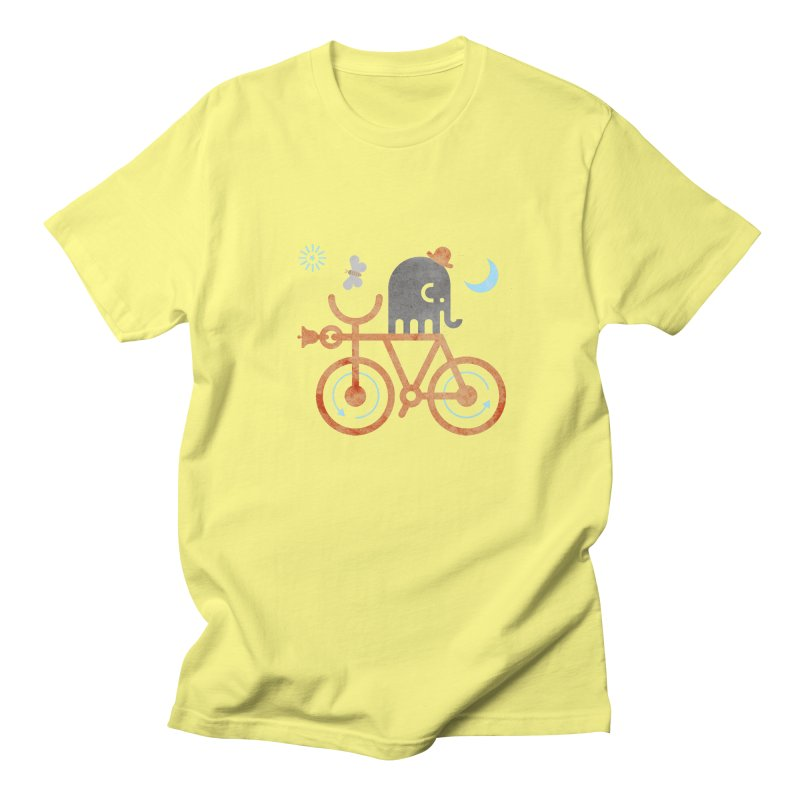 Elephant and Moth Men's Regular T-Shirt by scottpartridge's Artist Shop