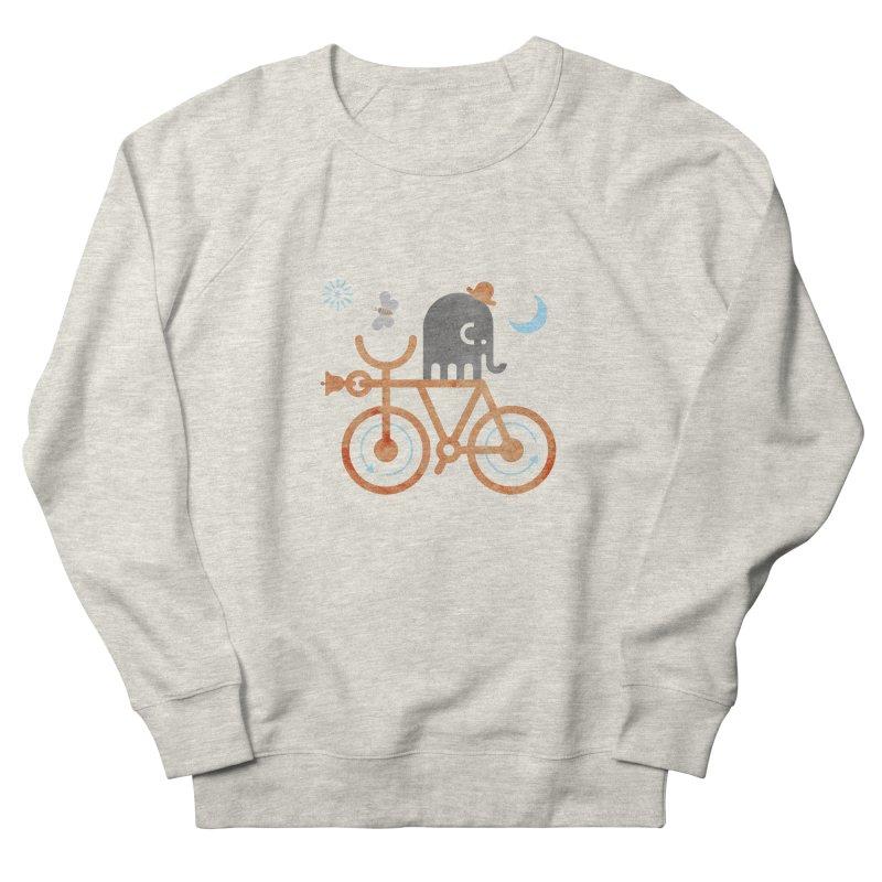 Elephant and Moth Women's French Terry Sweatshirt by scottpartridge's Artist Shop