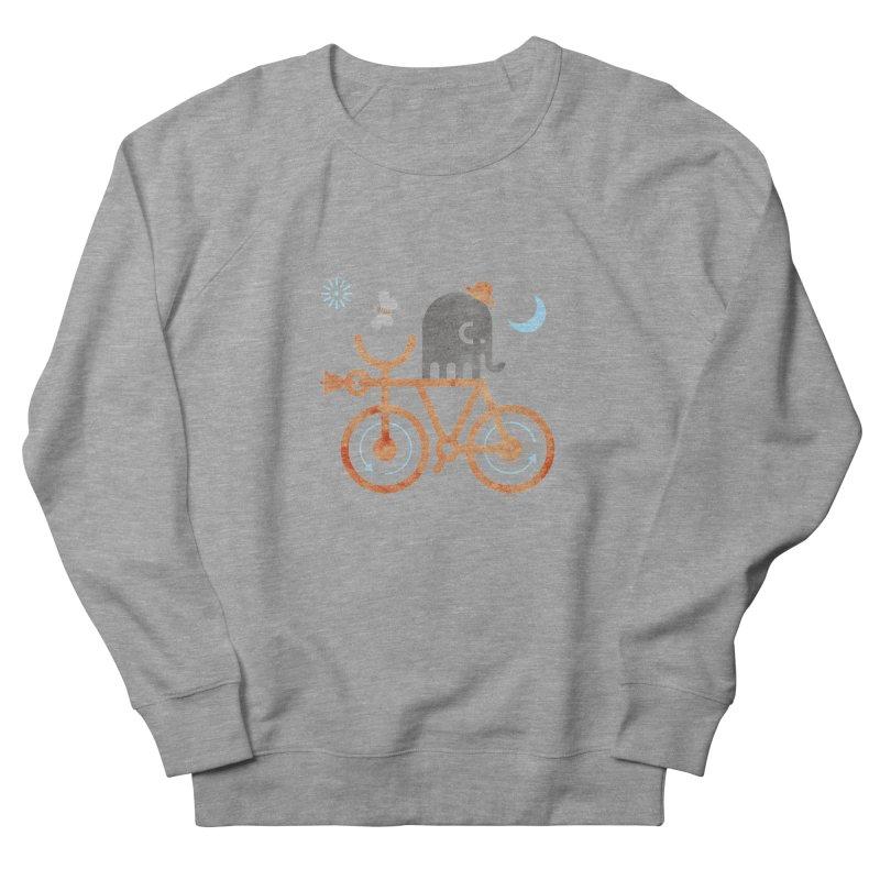 Elephant and Moth Men's French Terry Sweatshirt by scottpartridge's Artist Shop