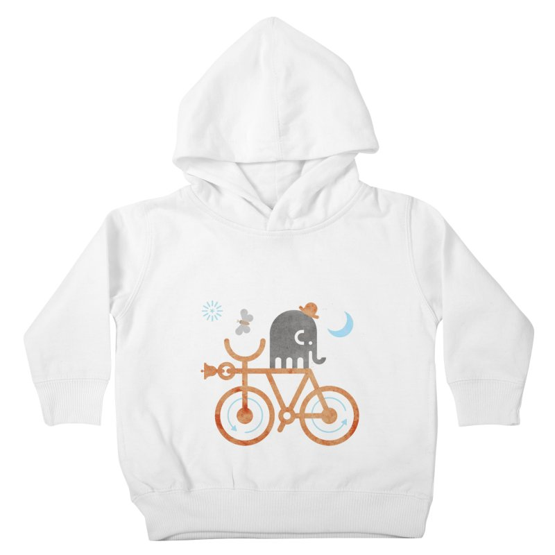 Elephant and Moth Kids Toddler Pullover Hoody by scottpartridge's Artist Shop