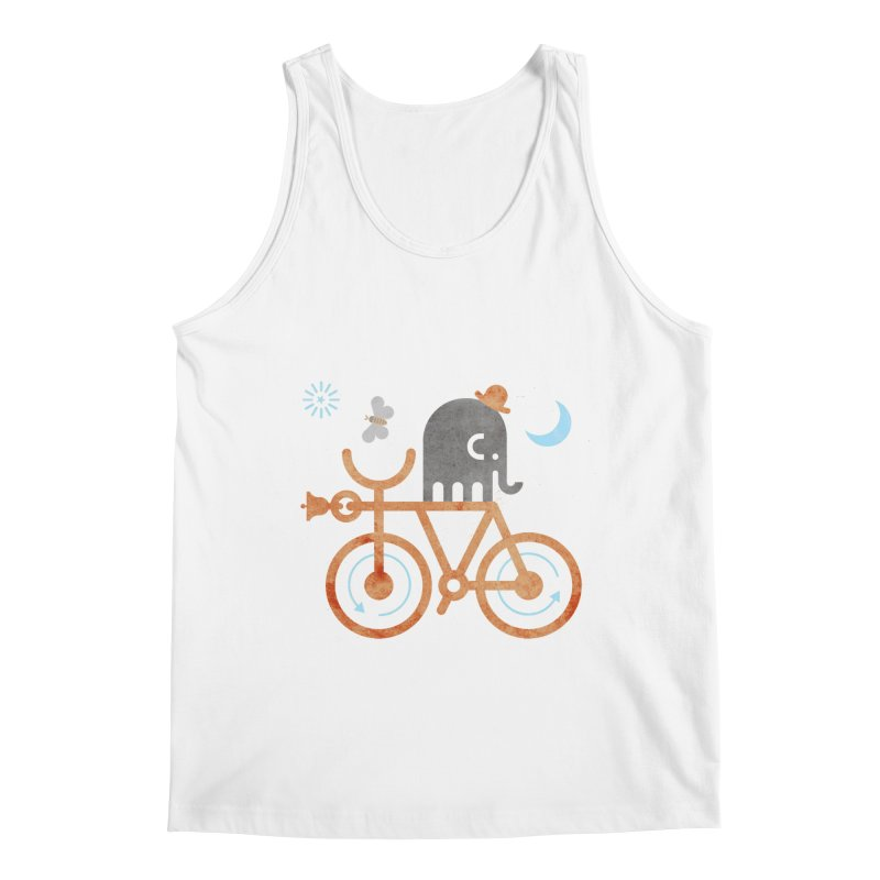 Elephant and Moth Men's Regular Tank by scottpartridge's Artist Shop