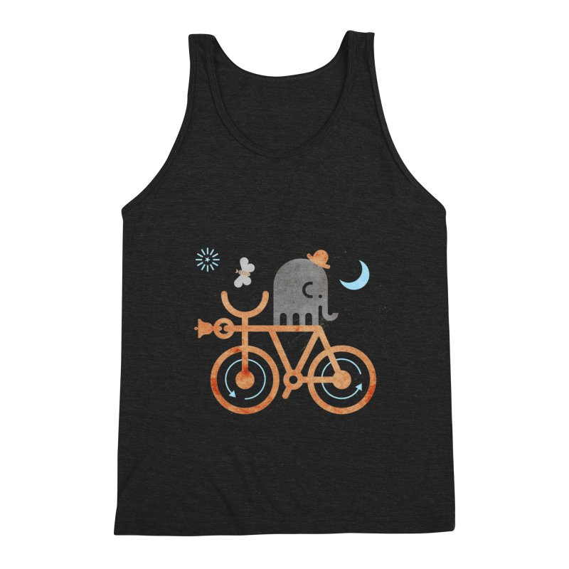 Elephant and Moth Men's Tank by scottpartridge's Artist Shop