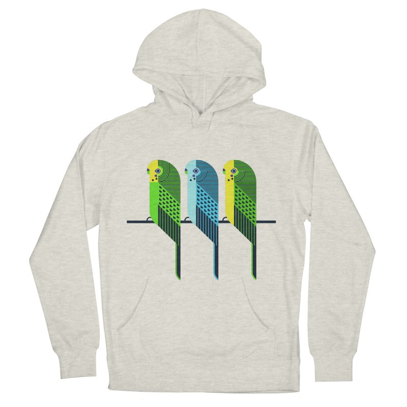 Parakeets Women's Pullover Hoody by scottpartridge's Artist Shop