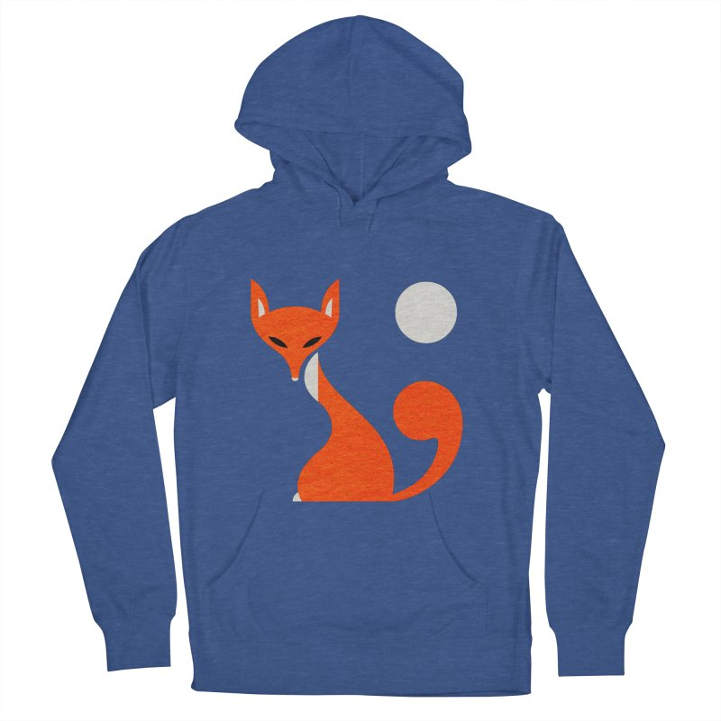 Fox and Moon Women's Pullover Hoody by scottpartridge's Artist Shop