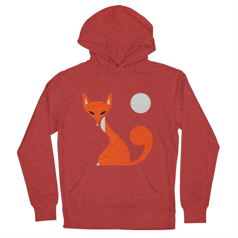 Fox and Moon Women's French Terry Pullover Hoody by scottpartridge's Artist Shop