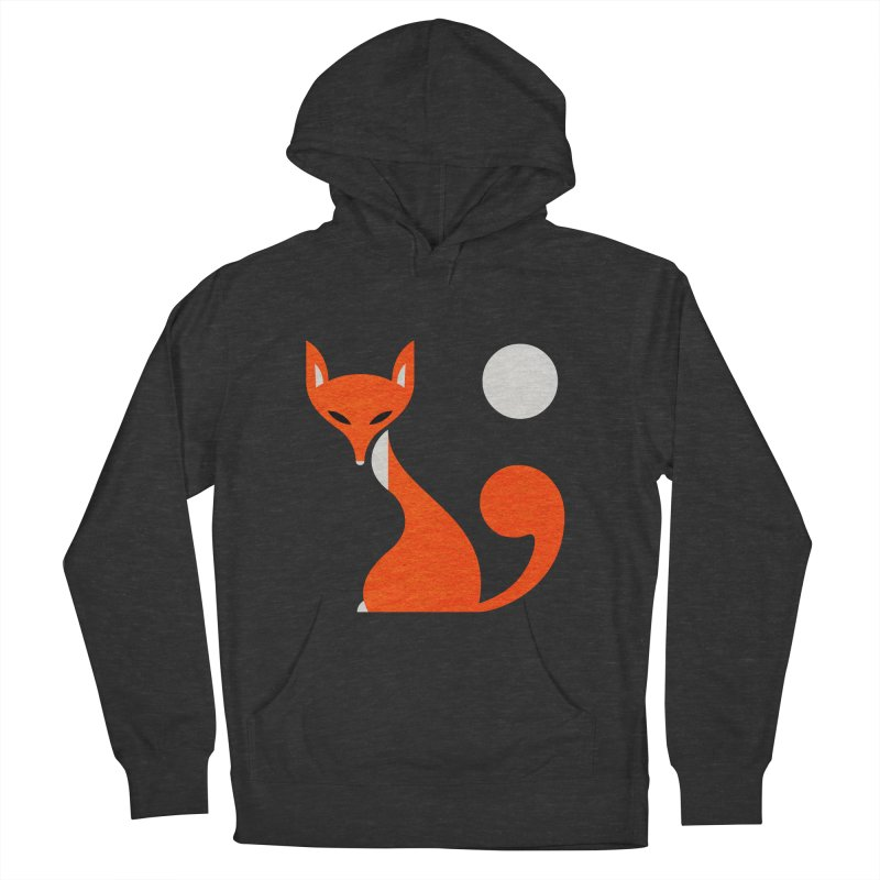 Fox and Moon Men's French Terry Pullover Hoody by scottpartridge's Artist Shop