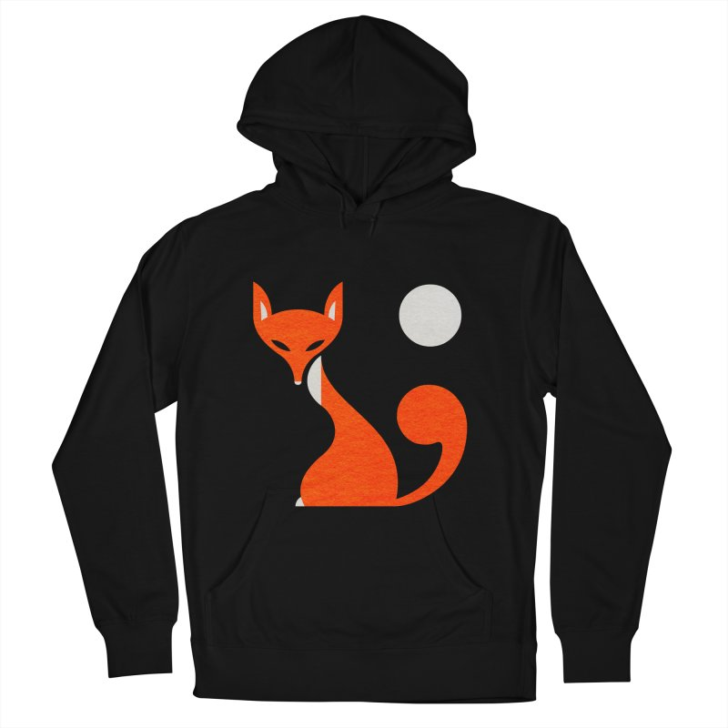 Fox and Moon Men's Pullover Hoody by scottpartridge's Artist Shop