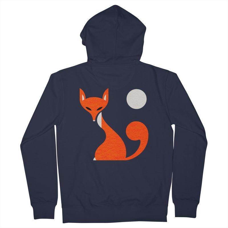 Fox and Moon Women's Zip-Up Hoody by scottpartridge's Artist Shop