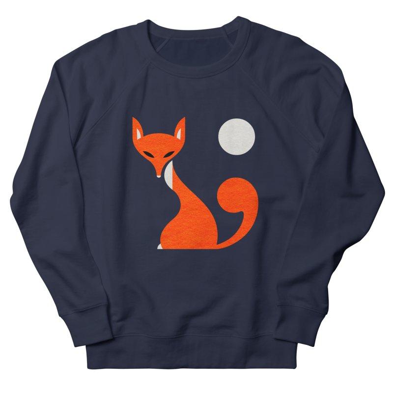Fox and Moon Women's Sweatshirt by scottpartridge's Artist Shop