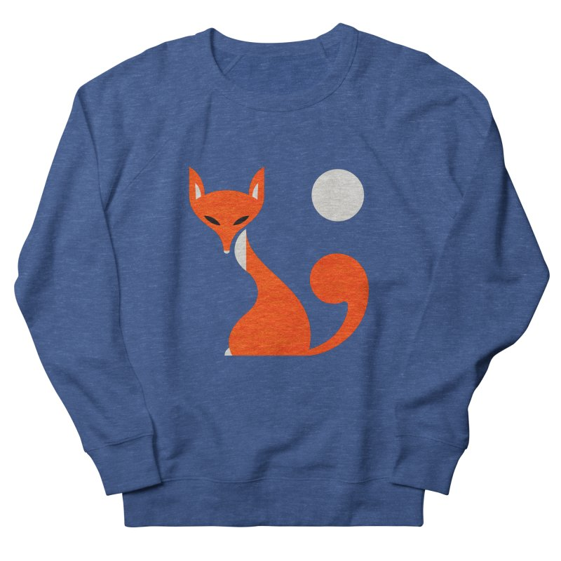 Fox and Moon Men's French Terry Sweatshirt by scottpartridge's Artist Shop