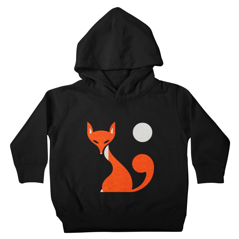 Fox and Moon Kids Toddler Pullover Hoody by scottpartridge's Artist Shop