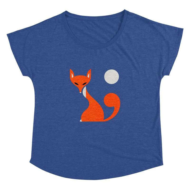 Fox and Moon   by scottpartridge's Artist Shop