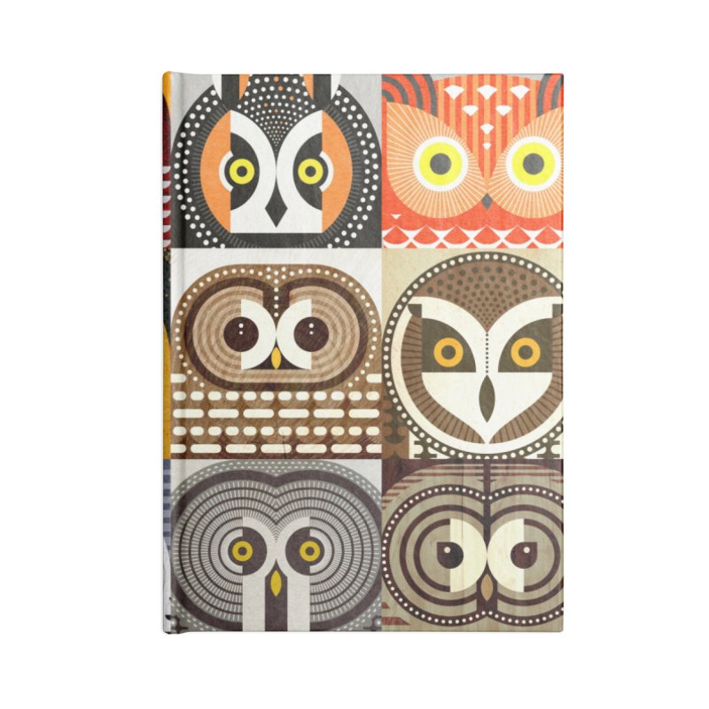 North American Owls Accessories Notebook by scottpartridge's Artist Shop