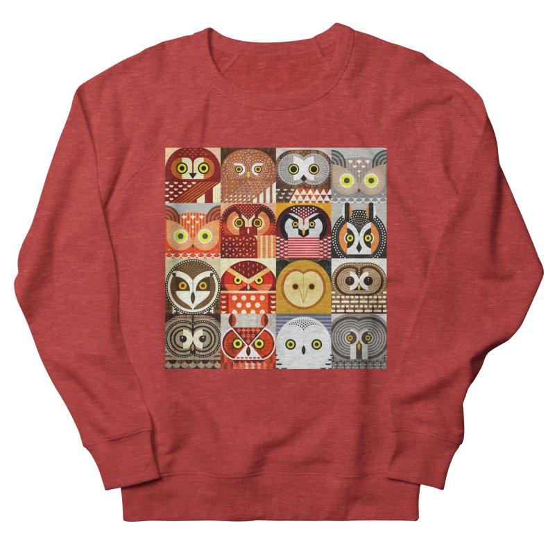 North American Owls Women's French Terry Sweatshirt by scottpartridge's Artist Shop