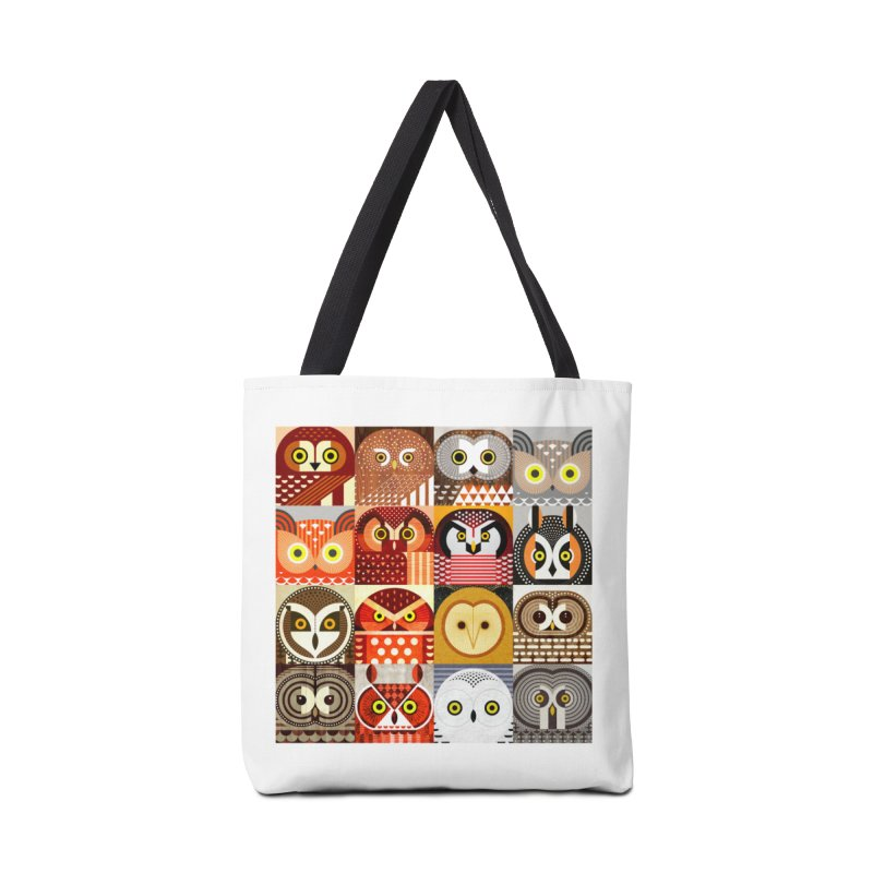 North American Owls Accessories Bag by scottpartridge's Artist Shop