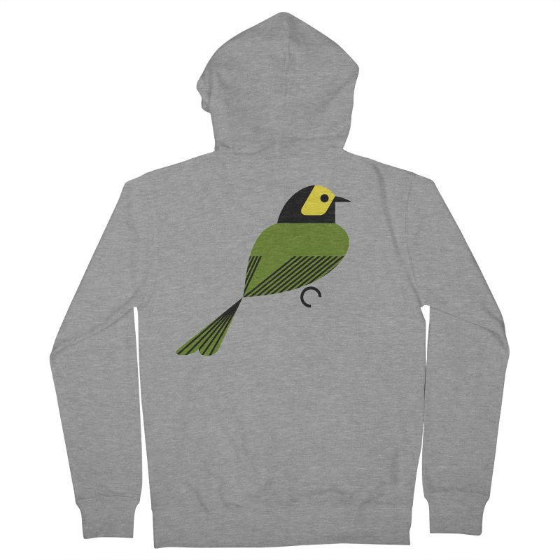 Hooded Warbler Women's Zip-Up Hoody by scottpartridge's Artist Shop