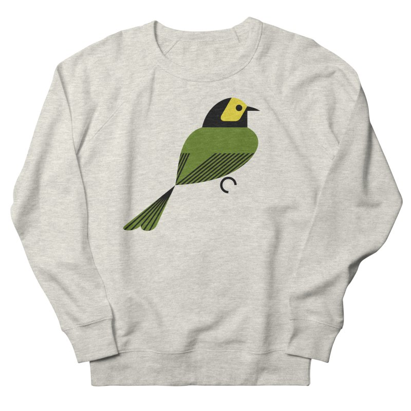 Hooded Warbler Women's French Terry Sweatshirt by scottpartridge's Artist Shop