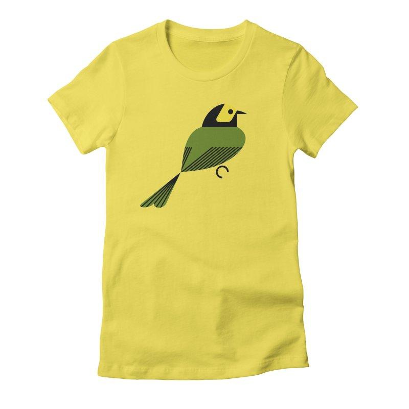 Hooded Warbler Women's T-Shirt by scottpartridge's Artist Shop