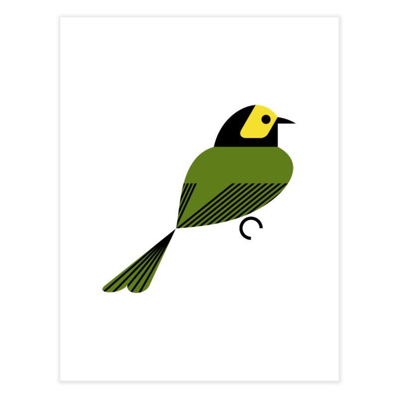 Hooded Warbler Home Fine Art Print by scottpartridge's Artist Shop