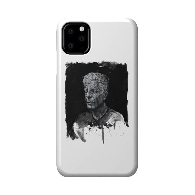 Bourdain Accessories Phone Case by Scott Shellhamer's Artist Shop