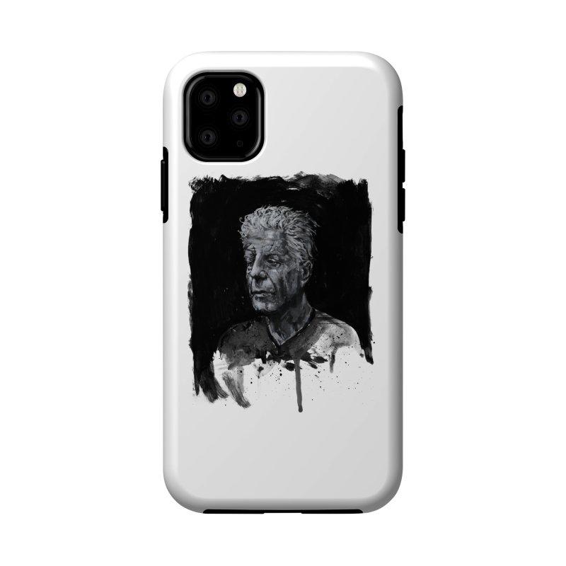 Bourdain Accessories Phone Case by Scott Shellhamer's Artist Shop