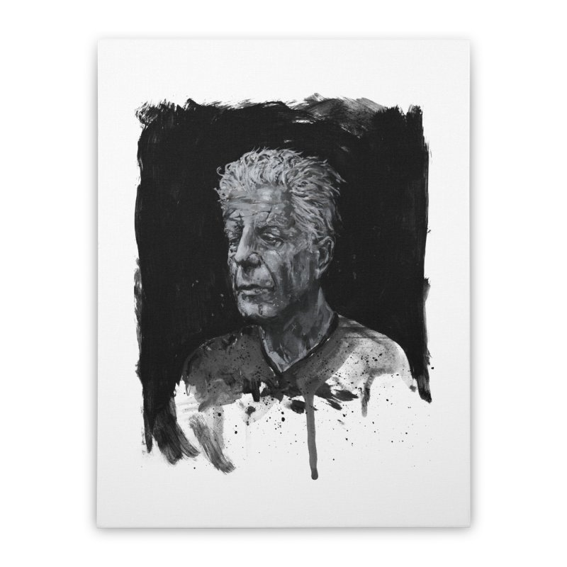 Bourdain Home Stretched Canvas by Scott Shellhamer's Artist Shop