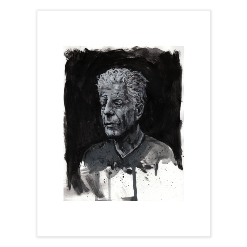 Bourdain Home Fine Art Print by Scott Shellhamer's Artist Shop
