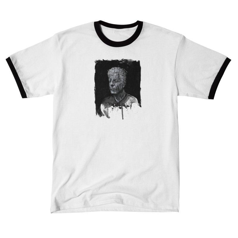 Bourdain Men's T-Shirt by Scott Shellhamer's Artist Shop