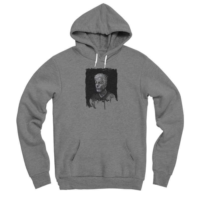 Bourdain Women's Pullover Hoody by Scott Shellhamer's Artist Shop