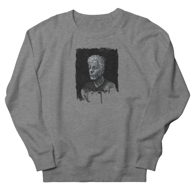 Bourdain Women's Sweatshirt by Scott Shellhamer's Artist Shop