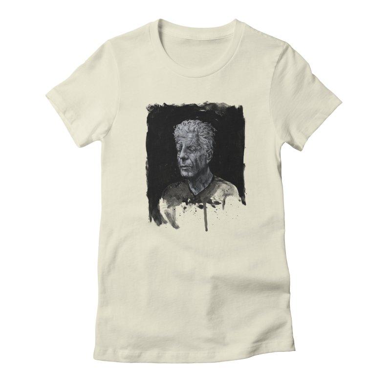 Bourdain Women's T-Shirt by Scott Shellhamer's Artist Shop