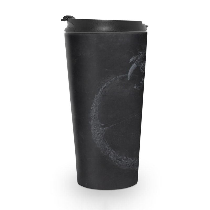 Coffinworm Accessories Travel Mug by Scott Shellhamer's Artist Shop
