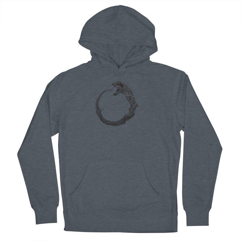 Coffinworm Women's French Terry Pullover Hoody by Scott Shellhamer's Artist Shop