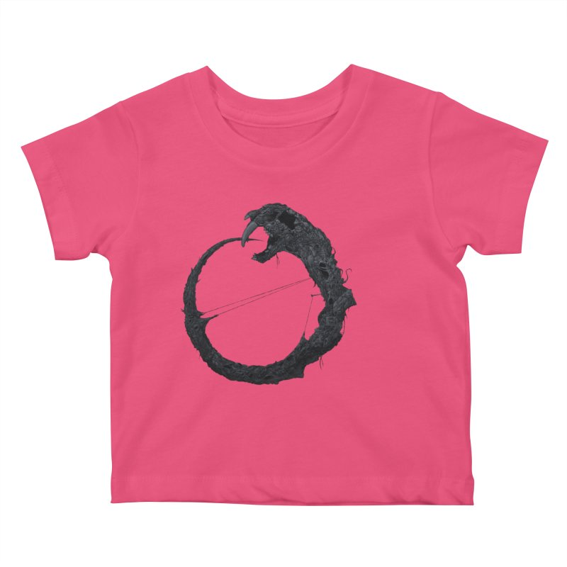 Coffinworm Kids Baby T-Shirt by Scott Shellhamer's Artist Shop