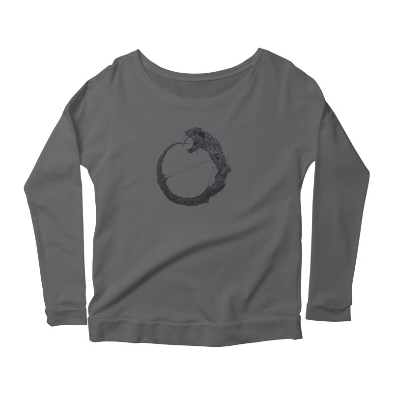 Coffinworm Women's Longsleeve T-Shirt by Scott Shellhamer's Artist Shop