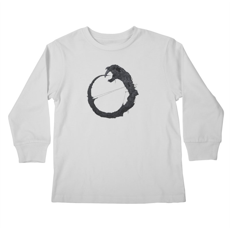 Coffinworm Kids Longsleeve T-Shirt by Scott Shellhamer's Artist Shop