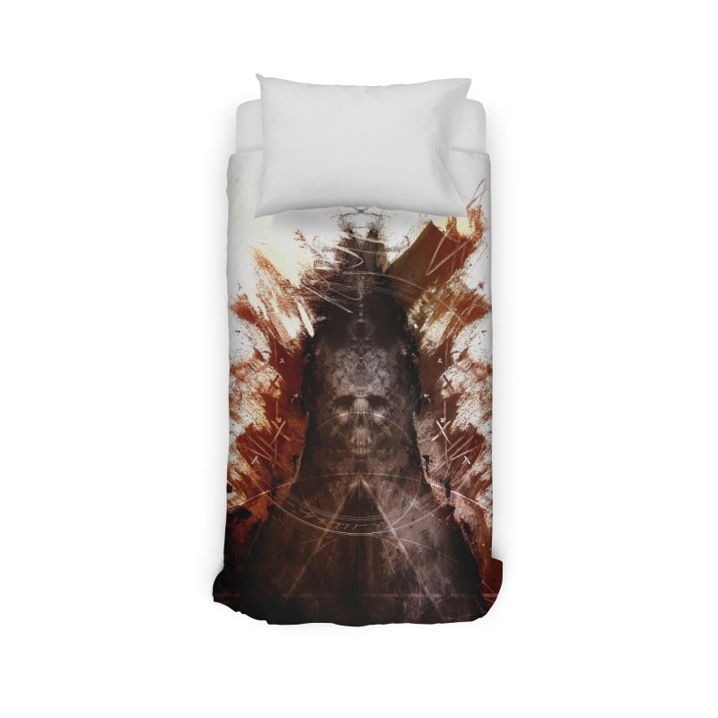 Cokegoat Home Duvet by Scott Shellhamer's Artist Shop