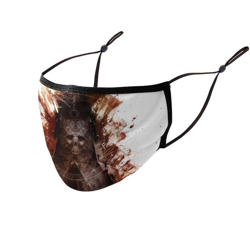 Cokegoat Accessories Face Mask by Scott Shellhamer's Artist Shop