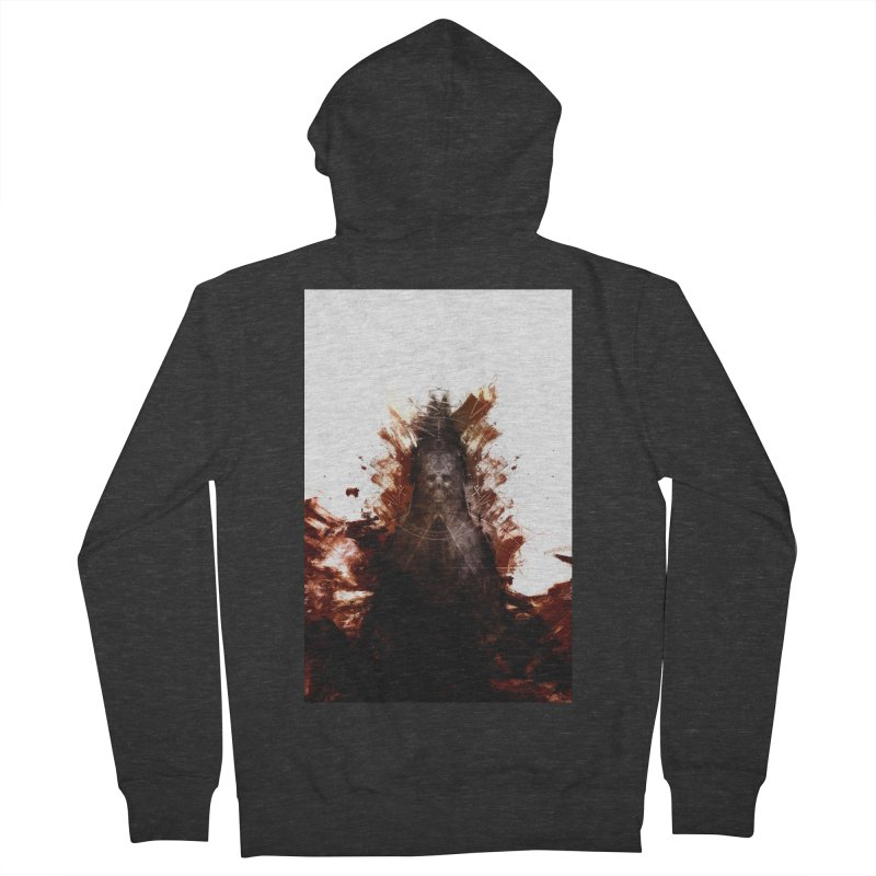 Cokegoat Men's French Terry Zip-Up Hoody by Scott Shellhamer's Artist Shop