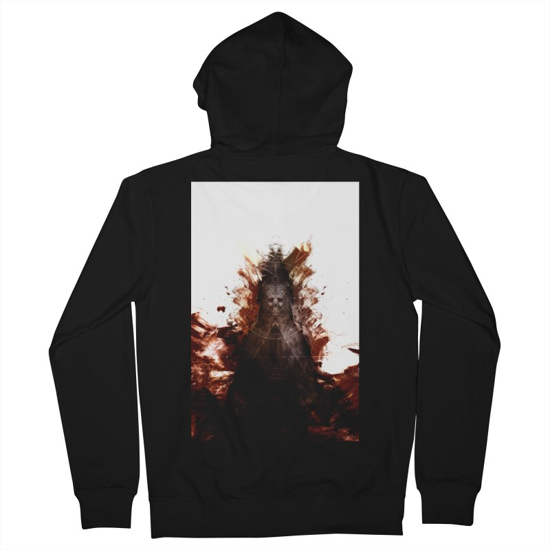 Cokegoat Men's Zip-Up Hoody by Scott Shellhamer's Artist Shop