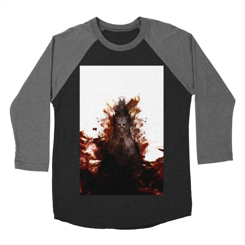 Cokegoat Men's Baseball Triblend Longsleeve T-Shirt by Scott Shellhamer's Artist Shop